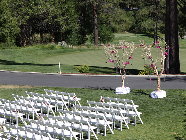 Ceremony site at The Chateau in Incline Village