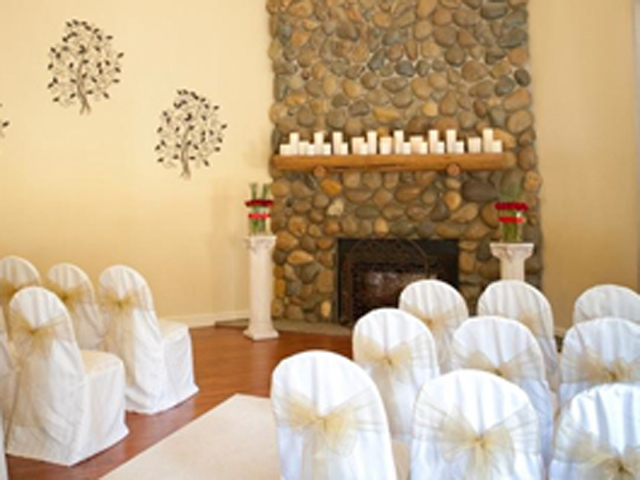 Ceremony site at Forest Suites Hotel