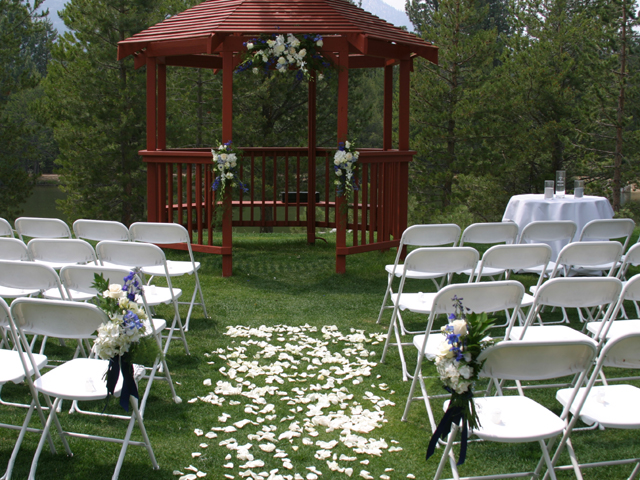 Ceremony site at Paradise Park