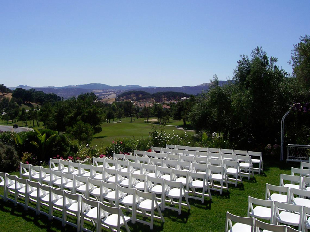Ceremony site at Rancho Solano
