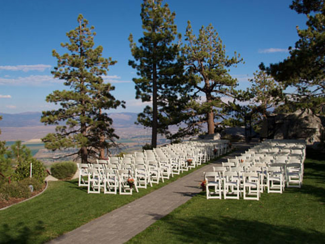 Ceremony site at Ridge Resorts