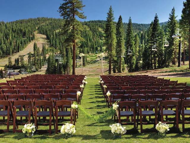 The Meadows ceremony site at the Ritz-Carlton