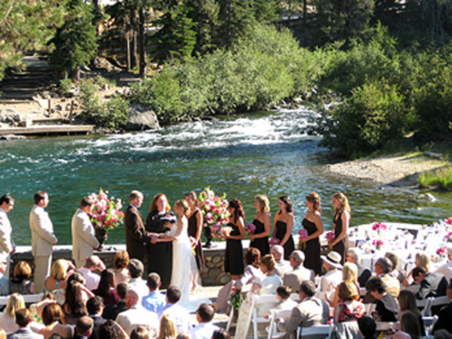 Wedding Ceremony at River Ranch