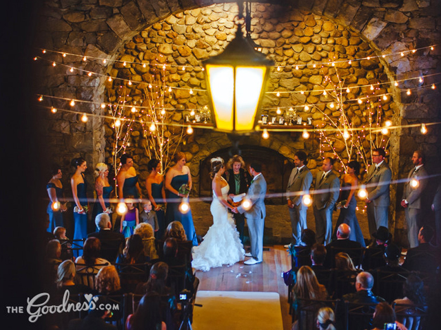 Wedding ceremony at The Grand Hall - Valhalla