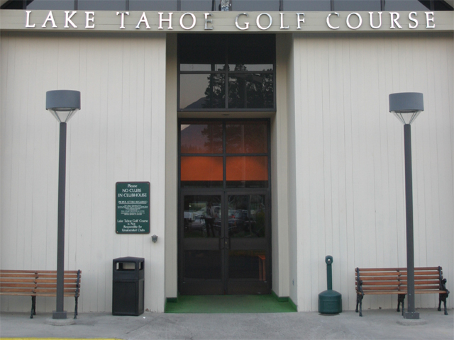 Entrance to Lake Tahoe Golf Club