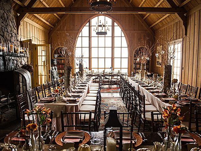 Dinning Room at Fairwinds Estate