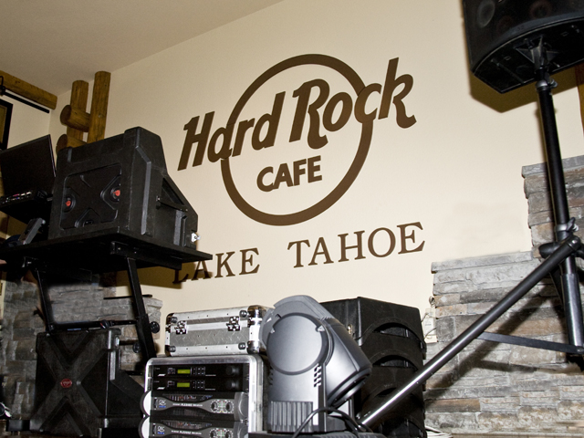 Stage at Hard Rock Cafe