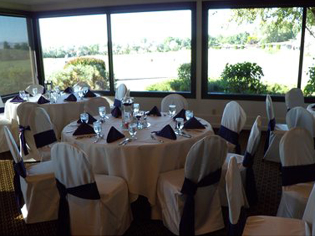 Reception Set Up at Hidden Valley Country Club