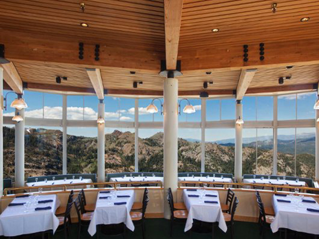 Dinning Room at High Camp - Squaw Valley