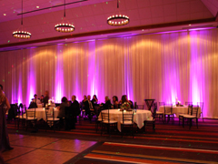 LakeDJ Uplighting at the Hyatt