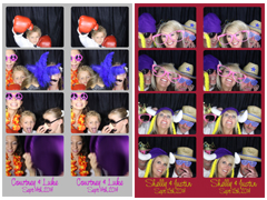 Example of PhotoBooth Strips